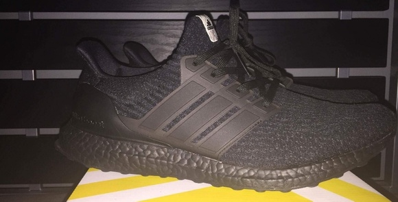 218e2966ced97 adidas Other - Ultra Boost 3.0 Size 12 Triple Black Custom